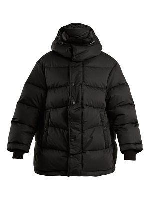 Balenciaga new swing quilted jacket