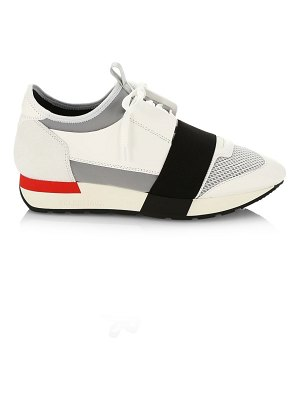 Balenciaga race mix media runner sneakers
