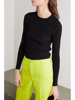 Balenciaga ribbed-knit sweater