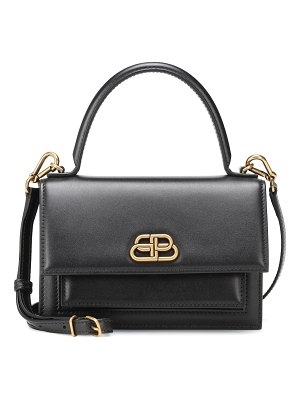 Balenciaga sharp xs leather shoulder bag