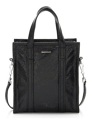 Balenciaga small bazar leather shopper satchel