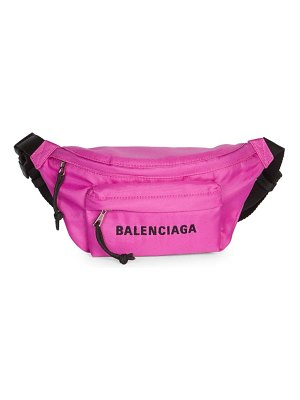 Balenciaga small wheel logo belt bag