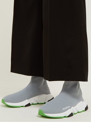 Balenciaga speed high top sock trainers