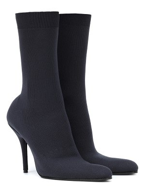 Balenciaga stretch-jersey ankle boots