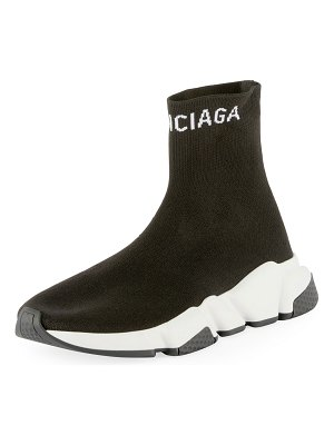 Balenciaga Tall Speed Knit Sock Sneakers