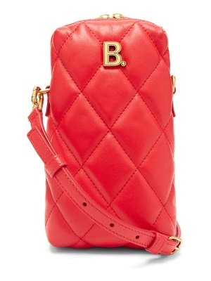 Balenciaga touch mini quilted leather cross body bag