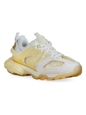 Balenciaga Track Clear-Sole Trainer Sneakers