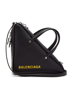 Balenciaga triangle duffle s cross body bag