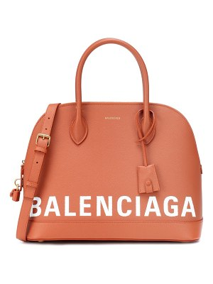 Balenciaga Ville M leather tote