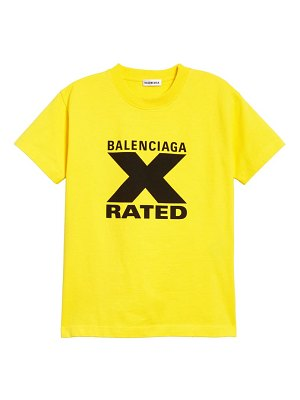 Balenciaga x-rated graphic tee