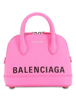 Balenciaga Xxs ville textured leather bag