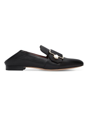 Bally 10mm maelle 500 pearl leather loafers
