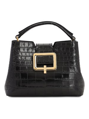 Bally Jorah croc embossed leather bag