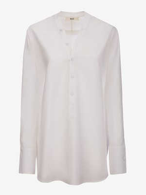 Bally Poplin V-Neck Shirt