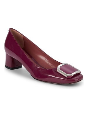Bally Round-Toe Patent Leather Pumps
