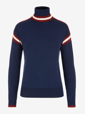 Bally Stripe Roll Neck Sweater
