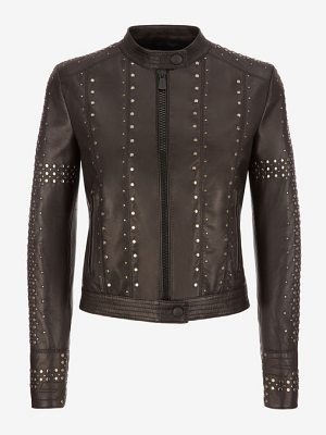 Bally Studded Café Racer Biker Jacket