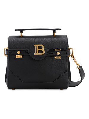 Balmain Bbuzz leather shoulder bag