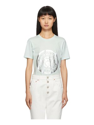 Balmain blue coin t-shirt