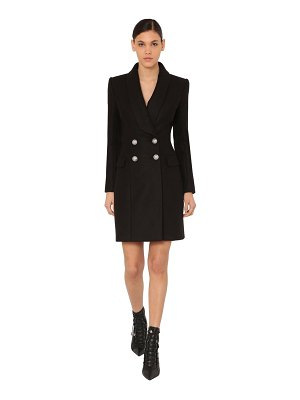 Balmain Double breast cloth wool coat