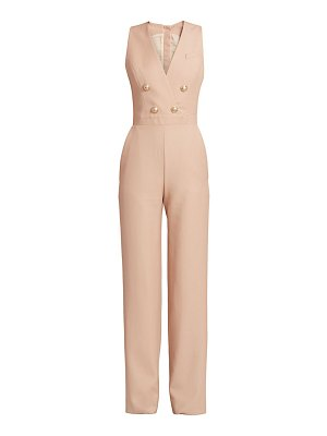 Balmain double breasted wide-leg jumpsuit