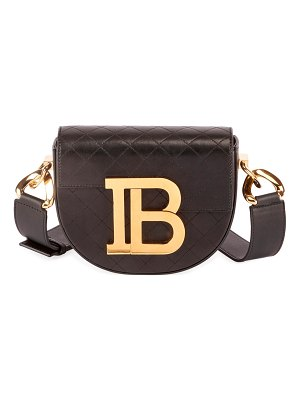 Balmain Jumper Small Quilted Lambskin Shoulder Bag