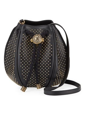 Balmain Mini B Studded Bucket Bag