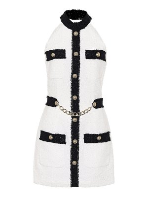Balmain tweed minidress