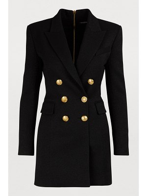 Balmain Wool jacket dress
