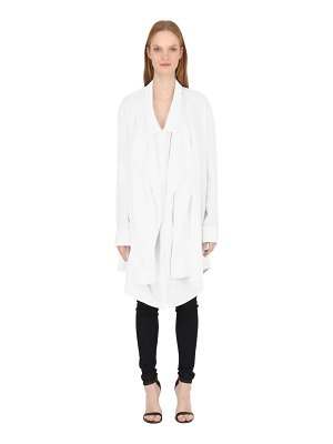 BALOSSA Oversized cotton poplin shirt