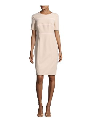 Basler Short-Sleeve Zippered Dress