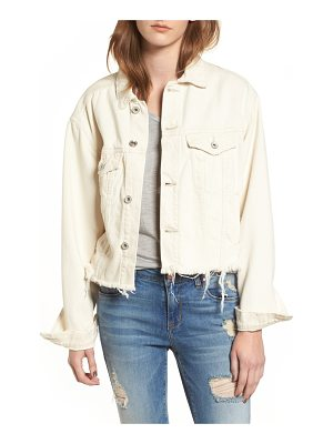 Band of Gypsies bailey cutoff denim jacket