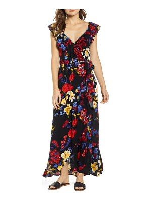 Band of Gypsies barcelona maxi wrap dress