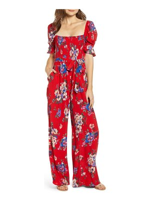 Band of Gypsies manchester smocked jumpsuit