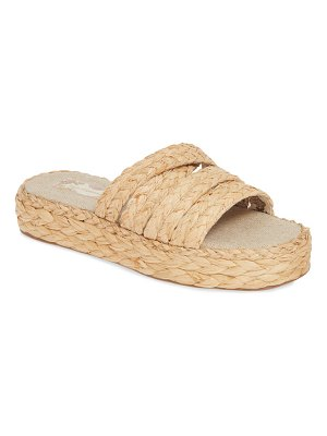 Band of Gypsies solstice platform slide sandal