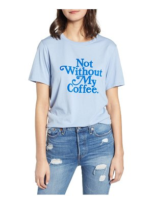 BAN.DO ban. do not without my coffee cotton tee