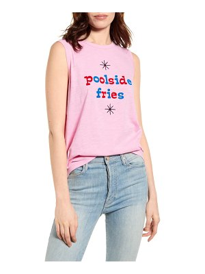 BAN.DO ban. do poolside fries graphic muscle tee