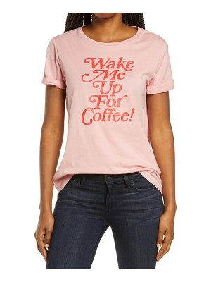 BAN.DO ban. do wake me up for coffee classic graphic tee