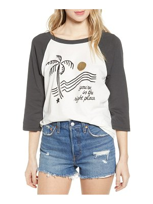 BAN.DO ban. do you're in the right place baseball tee