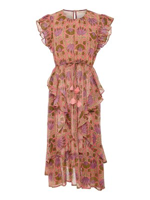 Banjanan leticia printed midi dress