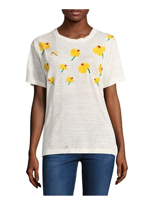 Banner Day Hawaiian Hibiscus-Patterned Tee