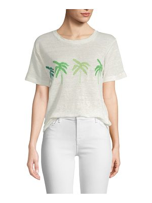 Banner Day palm tree tee