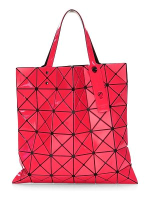 Bao Bao Issey Miyake lucent color block prism tote