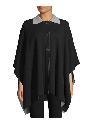 Barbara Lohmann Envogue Reversible Double-Face Cashmere Cape