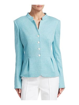 Barbara Lohmann geraldine silk-blend jacket
