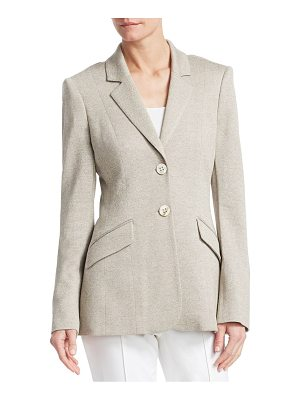 Barbara Lohmann germaine silk & cashmere jacket