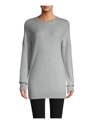 Barbara Lohmann Holiday Cashmere-Blend Pullover