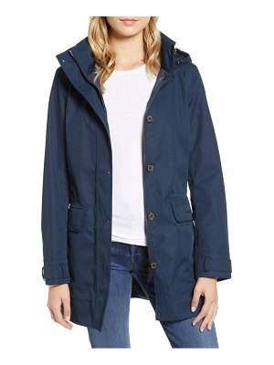 Barbour backwater waterproof hooded raincoat