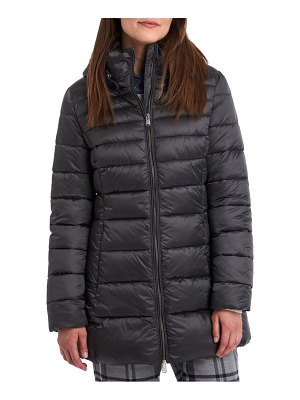Barbour blair quilted hooded coat