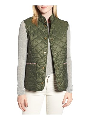 Barbour x liberty camila quilted vest